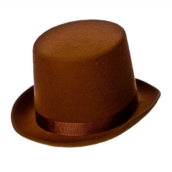 Top Hat - Deluxe - Brown